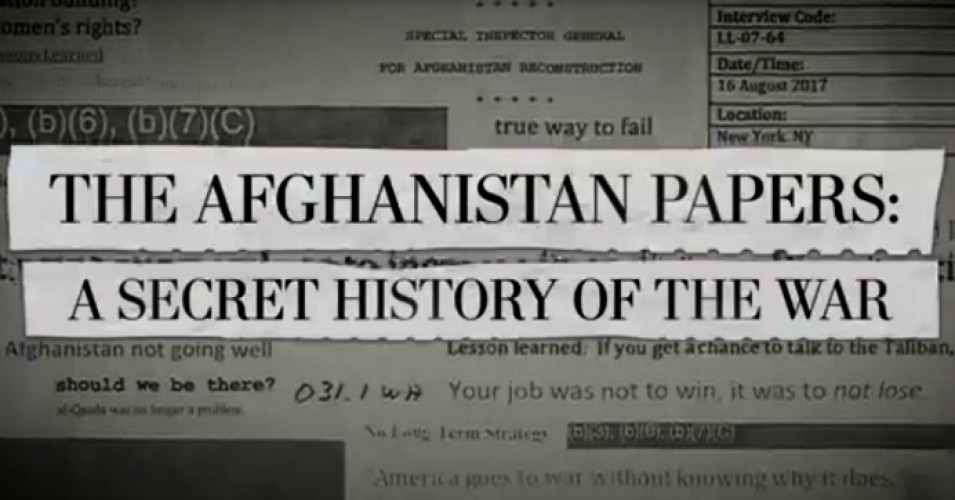Photo of Are Afghanistan Papers Intended To Facilitate A US Pullout? – OpEd