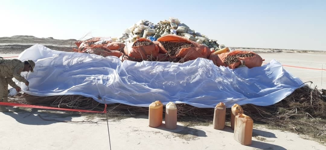 Photo of More Than 1,000kg Explosive Material Discovered in Sar-e-Pul