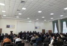 تصویر هیئت وزارت تحصیلات عالی ازپوهنتونی در شهر ترمز ازبکستان دیدن کرد