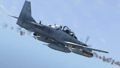 Photo of Air Force Attack on Armed Taliban in Kandahar, Fifteen Attackers Killed