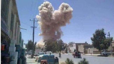 Photo of Explosion Rocks Kandahar