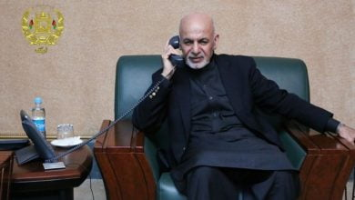 Photo of President Ghani Speaks with His Turkman Counterpart Via Phone
