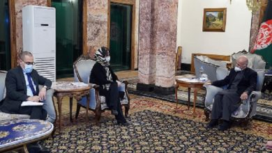 Photo of President Ghani Meets UNSG Special Representative