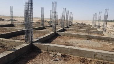 Photo of School Construction Work Began in Paktia