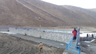 Photo of Irrigation Dam Opened in Ghor