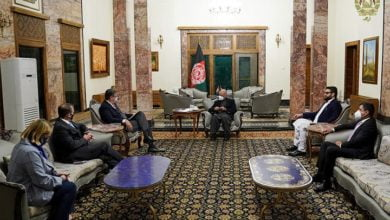 Photo of President Ghani Meets NATO Senior Civilian Representative