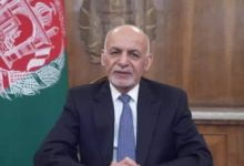 Photo of President Ghani's Keynote Speech at the Special Session of the UNGA in Response to Disease ‎COVID-19 Pandemic